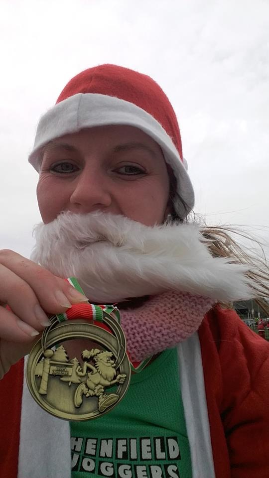 Santa Dash report from Kerry