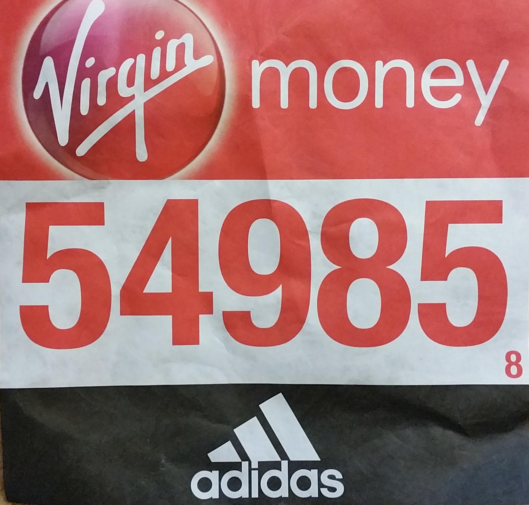 London Marathon Report by Colin