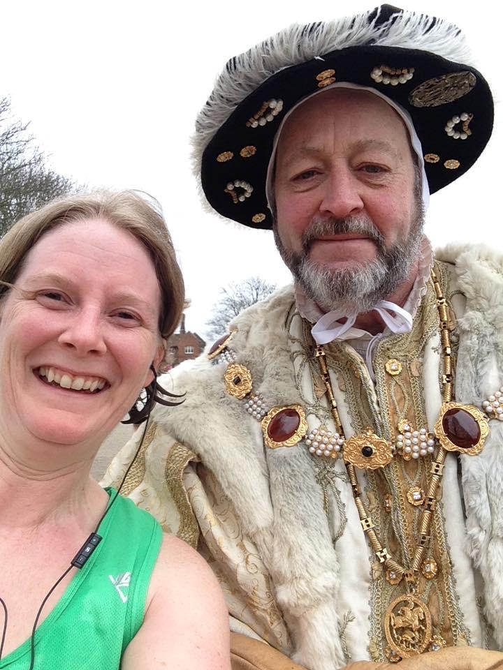 Hampton Court Half report from Lorna